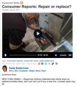 The Appliance Doctor talks about home appliance repairs on Consumer Reports