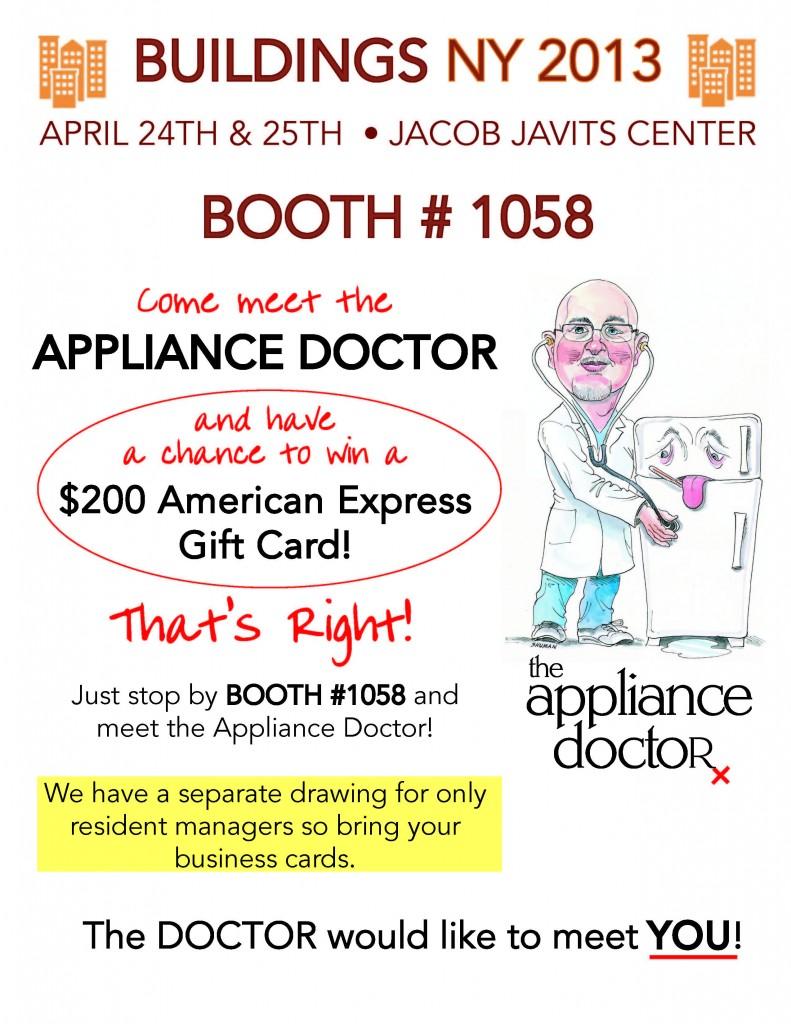 Flyer for April 2013