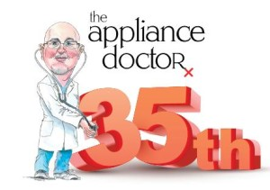 35th Anniversary For The Appliance Doctor